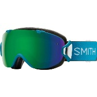 スミス メンズ スキー・スノーボード ゴーグル【I/OS Chromapop Goggles with Bonus Lens】Mineral Split/Chromapop Sun Green...
