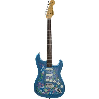 FenderMade in Japan Traditional '60s Stratocaster Blue Flower【ストラトキャスター】【おちゃのみず楽器】【Fender専門フロア】