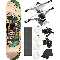 "Almostスケートボード面認識スケートボード8 "" x 31.7 "" Complete Skateboard – 7項目のバンドル"