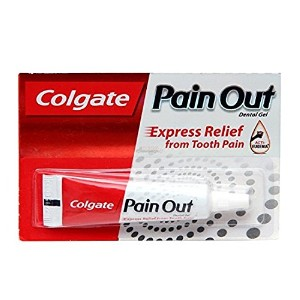 Buycrafty Pack Of 6 Colgate Pain Out Dental Gel - Express Relief from Tooth Pain - Proprietary...