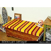 RUG&PIECE Mexican Serape made in mexcico ネイティブ メキシカン サラペ メキシコ製(rug-5897)