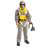 "【Elite Force: WWII U.S. Curtis P-40 Warhawk Pilot ""Lt. 'Doc' Miller"" 12"" Military Action Figure】..."