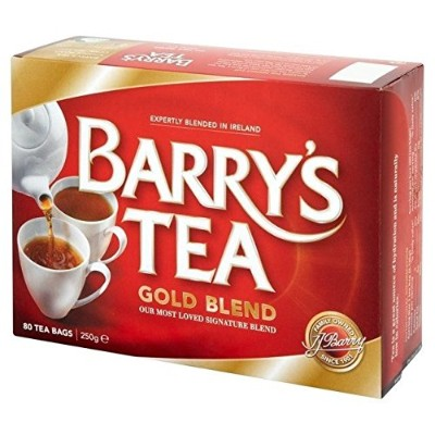 Barry's Irish Breakfast Tea - 1 Pack of 80 Teabags (Pack of 6) - バリー・アイリッシュ・ブレックファーストティー -...
