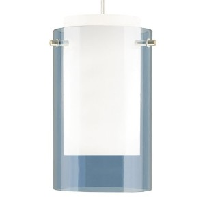TT2-Echo Pend sm stl blu,sn by Tech Lighting