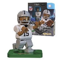 NFL gen3 Oakland Raiders Michael Crabtree Limited Edition S、シルバー、ミニフィギュア