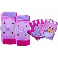 Bell Sports 7051866 Princess Pad Set, Pink/Lavender by Bell Sports