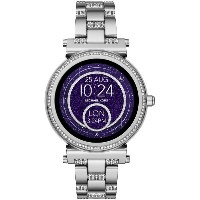 レディース MICHAEL KORS ACCESS Sofie Touchscreen Smartwatch スマートウォッチ シルバー
