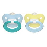 NUK Juicy Puller Silicone Pacifier in Assorted Colors, 0-6 Months by NUK