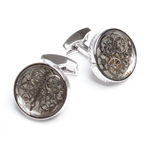 TATEOSSIAN『タテオシアン』カフリンクス 正規取扱店 CL3705-Rhodium Plated Clear