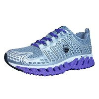 K Swiss Blade Max Endure Womens Running Trainers / Shoes - Silver-Silver-25.5