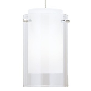 MP-Mini Echo Pend clear, ch by Tech Lighting