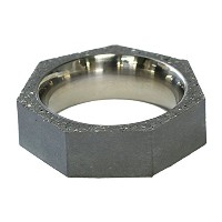 22designstudio Seven Ring THIN (Original) Original grey concrete 4719692541420 リング 指輪 #6(11号)[男女兼用]...