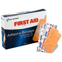 PhysiciansCare by First Aid Only First Aid Plastic Bandages, Box of 100, 1 x 3 by First Aid Only