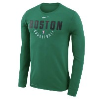 Boston Celtics Nike Practice Long Sleeve Performance T-Shirt メンズ Kelly Green NBA ナイキ ロンT ボストン...