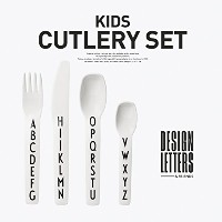【DESIGN LETTERS】KIDS CUTLERY SET キッズカトラリーセット