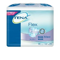 Case of Tena Flex Maxi Extra Large (105 - 155cm).3 x Pack of 21 (725421) by Tena