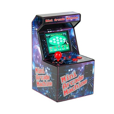 1980's Favourites Mini Arcade Machine - retro 16 bit - 240 Built in Games by Funtime Gifts