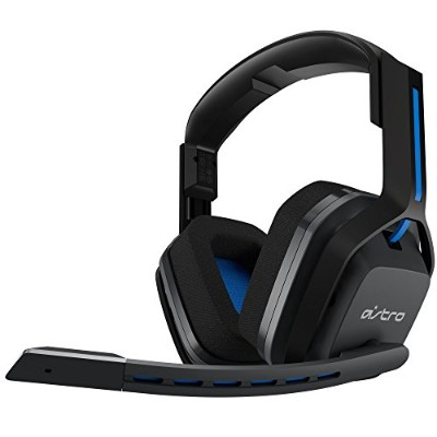Astro A20 Wireless Headset, Black/Blue - PlayStation 4 アストロ ワイヤレスヘッドセット PC/PS4/MAC対応 [並行輸入品]