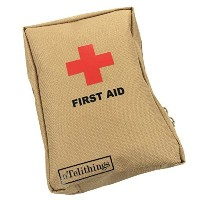 FIRST AID KIT Used For Emergencies At Home Office Job-Site Camping Survival Hunting Bicycle...