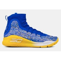 Under Armour Curry 4 IVキッズ/レディース Team Royal / Yield Yellow アンダーアーマー カリー4 バッシュ ステフィン・カリー 新作