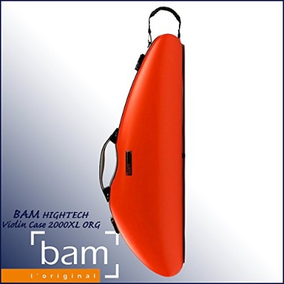 bam 2000XLORG [Orange] バイオリン用 ハードケース HIGHTECH -Slim Violin Case-