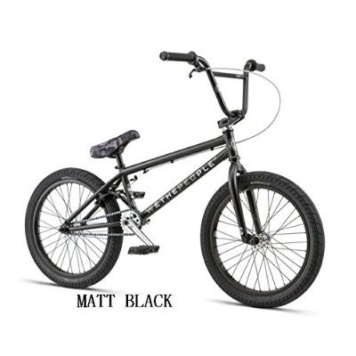 【BMX STREET】【ストリート】【20インチ】WETHEPEOPLE 2018/CURSE 20.25 (MATT BLACK)