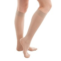 ITA-MED Sheer Knee Highs, Compression(20-22 mmHg), Beige, X-Large by ITA-MED