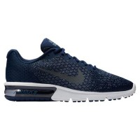 (取寄)Nike ナイキ メンズ エア マックス シークエント 2 Nike Men's Air Max Sequent 2 Binary Blue Dark Grey Dark Obsidian...