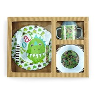 Mud Pie Feeding Set, Dino by Mud Pie