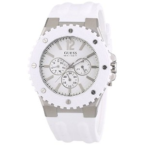 腕時計 ゲス Guess W10603G1 Mens OVERDRIVE White Watch 白 [並行輸入品]