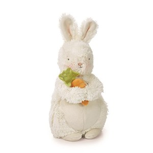 "Bunches - 10"" plush bunny w/carrot"