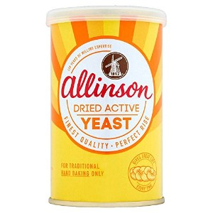 Allinson Dried Active Yeast (125g) アリンソン乾燥したアクティブな酵母( 125グラム)