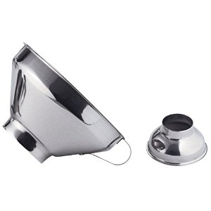 De Buyer Professionalコレクション15 cm Stainless Steel Jam Funnel with Adaptor for小さいJars 3356.00