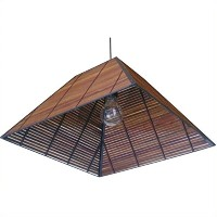 Oriental Furniture 9 Yamanote Japanese Ceiling Lantern by ORIENTAL FURNITURE