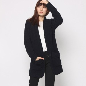 【SALE 73%OFF】ニューヨーク インダストリー  New York Industrie Outlet ノーカラージャケット (ネイビー)