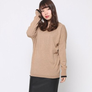 【SALE 80%OFF】ニューヨーク インダストリー  New York Industrie Outlet 薄手ニットドルマン袖 (ベージュ)