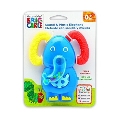 Kids Preferred Eric Carle Music and Sound Teether, Elephant by Kids Preferred