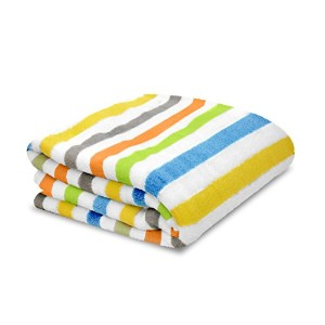 Little Starter Plush Toddler Blanket, Multi Stripe by Little Starter