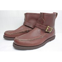 """""""RUSSELL MOCCASIN"""" (ラッセル モカシン) 4070-7 KNOCK-A-BOUT WITH BELTED(BROWN) 7E"""