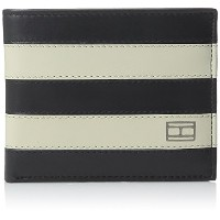 Tommy Hilfiger トミーフィルフィガー 財布 メンズ 財布 Men's Leather Ranger Pass case Wallet (Navy/Bone)
