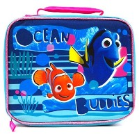 Finding Dory Ocean Buddies Dory and Nemo Soft, Glittery Lunch Bag [並行輸入品]
