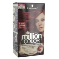 Schwarzkopf Million Color 6-88 Cashmere Rot 126 ml