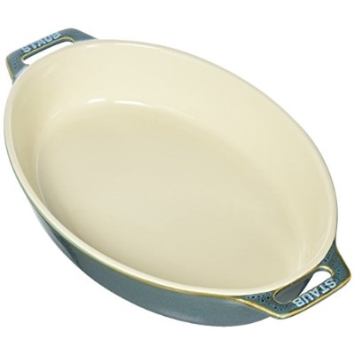 (Rustic Turquoise) - Staub 40511-902 Baking-Dishes, 28cm, Rustic Turquoise