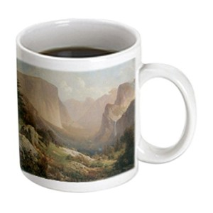3drose BLN American West Fineアートコレクション – View of Yosemite Valley by Thomas Hill American West –...