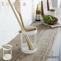 tosca/トスカ(山崎実業) ツールスタンド トスカ tool stand キッチンツール立て/収納/キッチン/台所/北欧