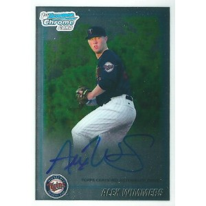 アレックス・ウィマーズ MLBカード Alex Wimmers 2010 Bowman Chrome Draft Prospect Autographs