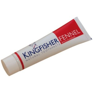 Kingfisher 100 ml Fennel with Fluoride Toothpaste - 3-Pack