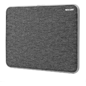 Incase ICON Sleeve with Tensaerlite for MacBook スリーブ 保護 ケース バッグ (13インチ Air, ブラック&グレー)