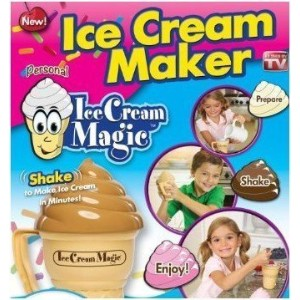 Ice Cream Magic Personal Ice Cream Maker (ASSORTED LID COLORS) [並行輸入品]