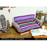 RUG&PIECE Mexican Serape made in mexcico ネイティブ メキシカン サラペ メキシコ製 190cm×110cm (rug-5927)